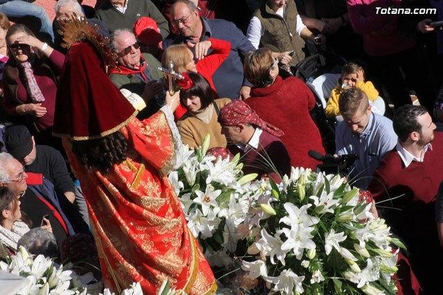LaDirecta.TV filmed a segment of the Pilgrimage of Santa Eulalia del 7 January 2013 - 1