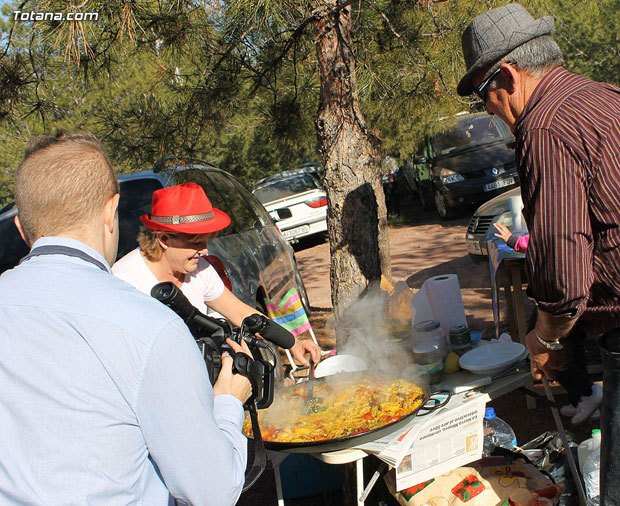 LaDirecta.TV filmed a segment of the Pilgrimage of Santa Eulalia del 7 January 2013 - 3