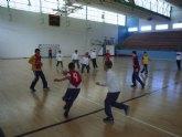 La concejalía de Deportes organizo la primera jornada de la fase local de balonmano alevín de deporte escolar