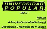 Nuevo trimestre de cursos y talleres de la Universidad Popular