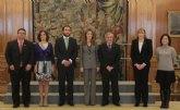 SAR la Princesa de Asturias recibe en Audiencia a ASEM, FEDER y a la Fundación Isabel Gemio