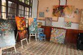 El Casino de Totana acogió una exposición de pintura artística - 1