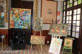 El Casino de Totana acogió una exposición de pintura artística - 4