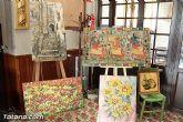 El Casino de Totana acogió una exposición de pintura artística - 5