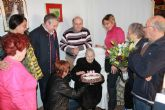 La vecina Ana Blaya raja cumple 103 años