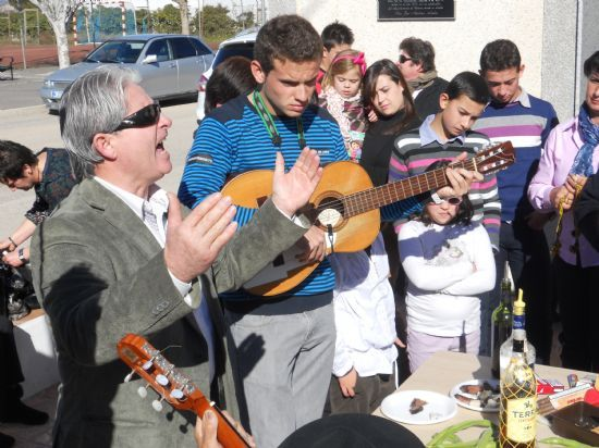 """The hamlet of Lower Raiguero held this Sunday January 20 the traditional """"Song of Souls"""" on the occasion of the feast of San Fulgencio - 1"""
