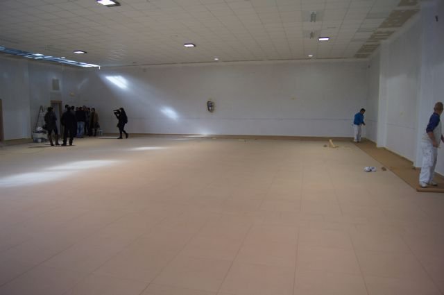 Resumption of construction works of the multipurpose room of the parish of the Paretón-cantareros - 3