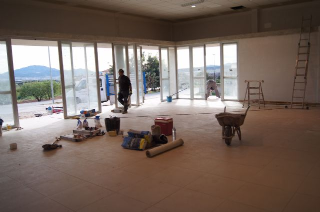 Resumption of construction works of the multipurpose room of the parish of the Paretón-cantareros - 4