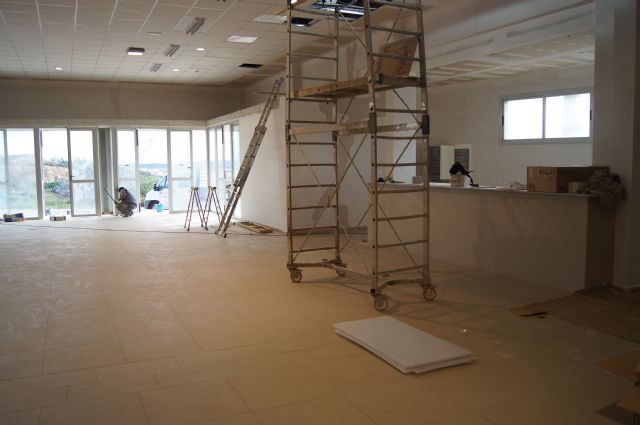 Resumption of construction works of the multipurpose room of the parish of the Paretón-cantareros - 6