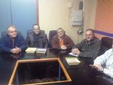 El Grupo Municipal de IU-verdes se reúne con la Directiva de la Comunidad de Regantes