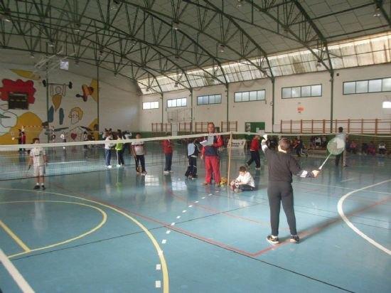 Totana acoge este próximo sábado 2 de febrero las fase de regionales de bádminton y orientación de Deporte Escolar, Foto 1