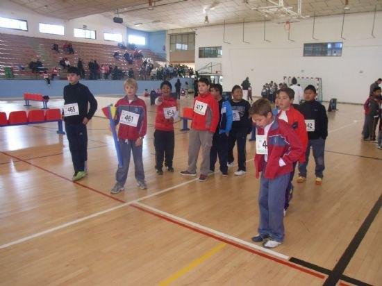 La concejalía de Deportes organiza hoy la fase local de jugando al atletismo de Deporte Escolar Benjamín, Foto 1