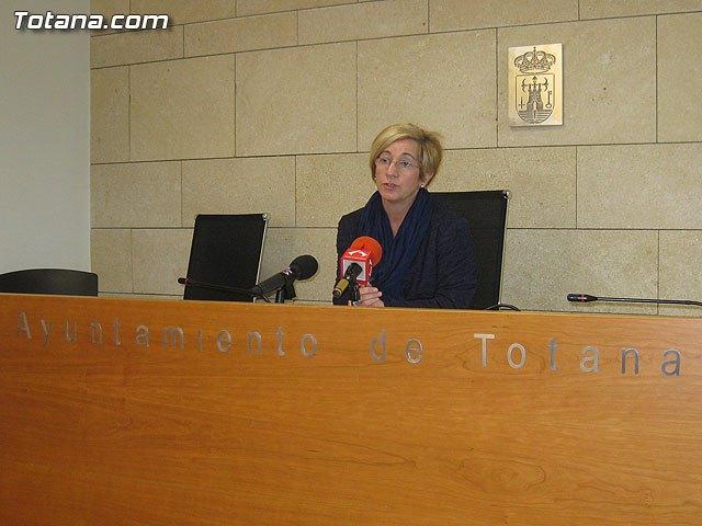 Rueda de prensa PSOE Totana, valoración Pleno enero 2013, Foto 1