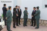 El delegado del Gobierno inaugura el Cuartel de la Guardia Civil de Totana, completamente reformado tras los daños causados por el terremoto de mayo de 2011 - 14