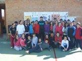 El marchador murciano, Miguel Ángel López Nicolás, 5º en los JJOO de Londres, visitó a los alumnos de ESO del Colegio Reina Sofía
