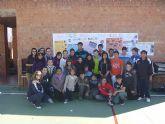 El marchador murciano, Miguel Ángel López Nicolás, 5º en los JJOO de Londres, visitó a los alumnos de ESO del Colegio Reina Sofía - 2