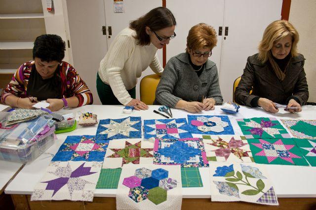 Abiertas las inscripciones para el próximo curso de Patchwork, una técnica de artesanía textil con infinitas posibilidades, Foto 1