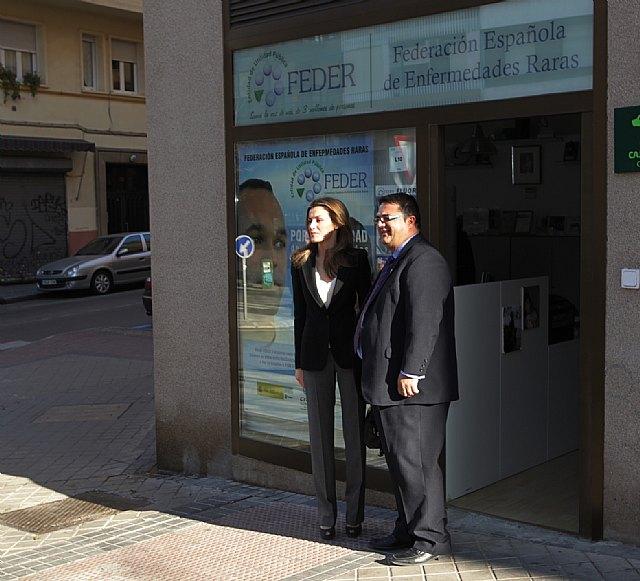 El totanero Juan Carrión Tudela se reune SAR la Princesa de Asturias, Foto 2
