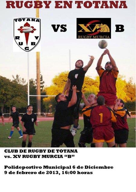 El Club de Rugby de Totana juega el sábado 9 de febrero con el XV Rugby Murcia B, Foto 2