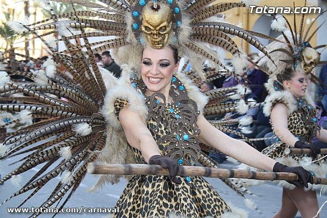 Un total de nueve centros educativos y 17 peñas participarán en los desfiles de carnaval de Totana 2013, Foto 1