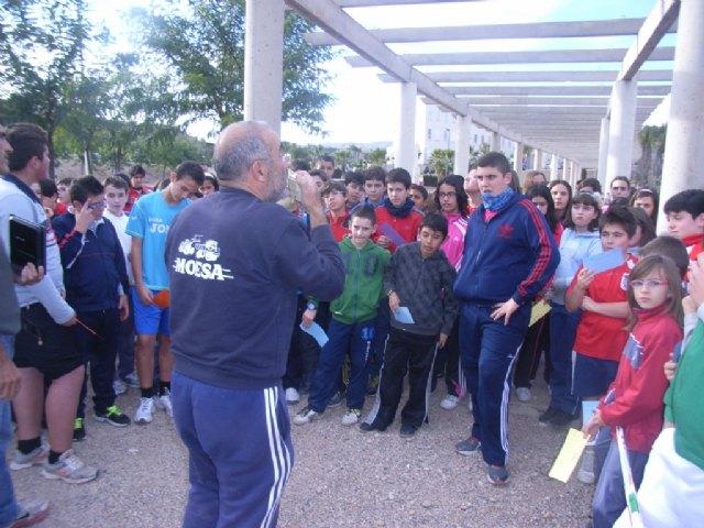 La Concejalía de Deportes y el Club de Orientación organizaron la fase local de orientación de Deporte Escolar, Foto 1