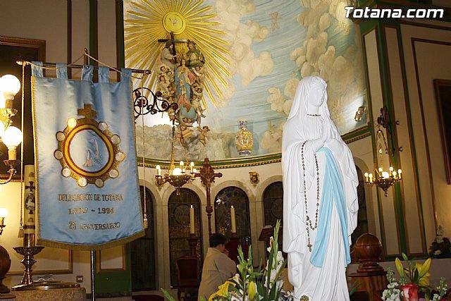 La festividad de Nuestra Señora de Lourdes se celebrará el próximo lunes, Foto 1