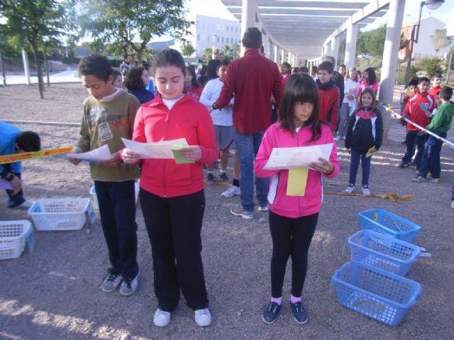 La Concejalía de Deportes y el Club de Orientación organizaron la fase local de orientación de Deporte Escolar - 2