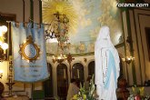 La festividad de Nuestra Señora de Lourdes se celebrará el próximo lunes