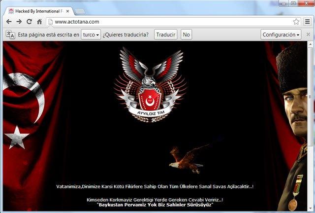 Hackean la web de la Asociación de Comerciantes de Totana, Foto 2