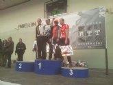 José Andreo sube al podium en Almansa desafiando el intenso frío en un fin de semana marcado por el viento en todas las carreras disputadas