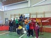 El equipo cadete masculino del IES Juan de la Cierva, subcampeón en la final regional de tenis de mesa de Deporte Escolar, celebrada en Lorca