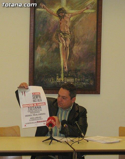 La iniciativa Sangre cofrade, sangre solidaria tendrá lugar el próximo 15 de febrero, Foto 1