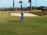 Ángel Pérez campeón benjamín del I mensual de golf de la FGRM