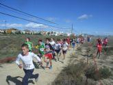 24 escolares totaneros participaron en la final regional de campo a través de Deporte Escolar benjamín y alevín