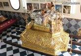 El próximo domingo se bendecirá el nuevo trono con el que procesionará la Hermandad de Nuestra Señora de los Dolores