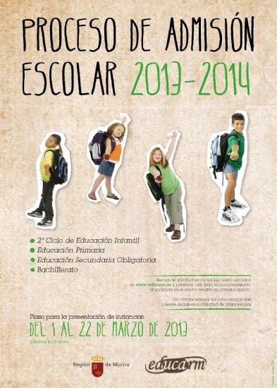 Hoy se abre el proceso de admisión de alumnos de segundo ciclo de educación infantil, educación primaria, secundaria y bachillerato para el curso escolar 2013/2014, Foto 2