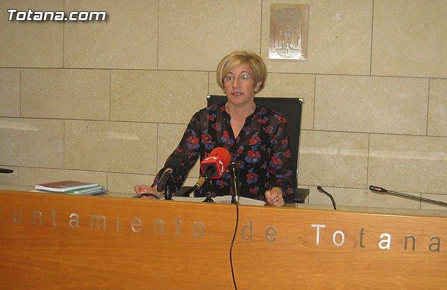 Rueda de prensa PSOE Totana, valoración Pleno febrero 2013, Foto 1