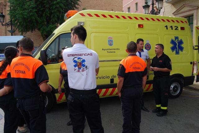 La Gerencia de Emergencias Sanitarias 061 Región de Murcia recibió en 2012 un total de 3.010 llamadas procedentes de vecinos de Totana, Foto 1