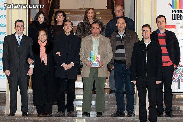 semanasantatotana.com, mejor web asociativa en los premios web de La Verdad, Foto 1