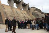 Los futuros ingenieros de la Universidad de Castilla-La Mancha visitan las infraestructuras de la CHS