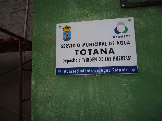 Realizan operaciones de mantenimiento en el depósito regulador de agua potable Virgen de las Huertas, Foto 2