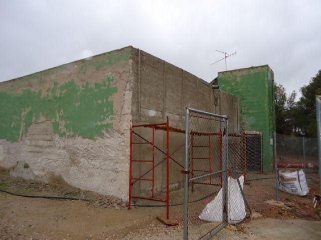 Realizan operaciones de mantenimiento en el depósito regulador de agua potable Virgen de las Huertas, Foto 3