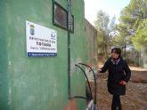 Realizan operaciones de mantenimiento en el depósito regulador de agua potable Virgen de las Huertas