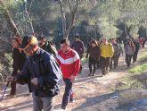Un total de 35 senderistas participaron en la ruta organizada por la concejalía de Deportes en el Parque Regional del Valle y Carrascoy - 1