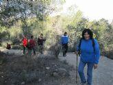 Un total de 35 senderistas participaron en la ruta organizada por la concejalía de Deportes en el Parque Regional del Valle y Carrascoy - 3