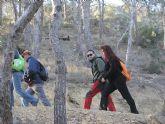 Un total de 35 senderistas participaron en la ruta organizada por la concejalía de Deportes en el Parque Regional del Valle y Carrascoy - 5