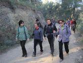 Un total de 35 senderistas participaron en la ruta organizada por la concejalía de Deportes en el Parque Regional del Valle y Carrascoy - 9