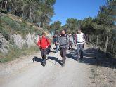 Un total de 35 senderistas participaron en la ruta organizada por la concejalía de Deportes en el Parque Regional del Valle y Carrascoy - 11