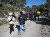 Un total de 35 senderistas participaron en la ruta organizada por la concejalía de Deportes en el Parque Regional del Valle y Carrascoy - 13