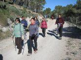 Un total de 35 senderistas participaron en la ruta organizada por la concejalía de Deportes en el Parque Regional del Valle y Carrascoy - 15